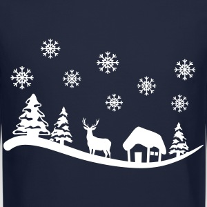 Winter Landscape Long Sleeve Shirts - Crewneck Sweatshirt