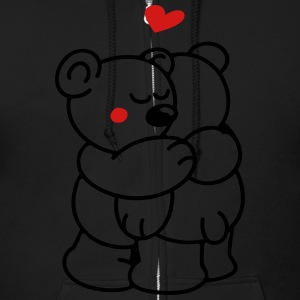Teddys in Love Zip Hoodies & Jackets - Men's Zip Hoodie