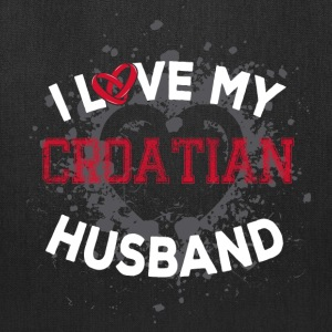I Love My Croatian Husband Bags & backpacks - Tote Bag