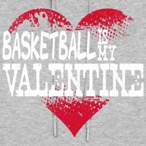 Basketball Is My Valentine Hoodies - Women's Hoodie