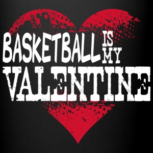 Basketball Is My Valentine Mugs & Drinkware - Full Color Mug