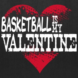 Basketball Is My Valentine Bags & backpacks - Tote Bag