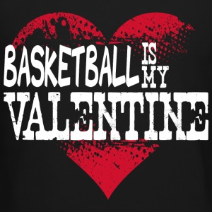 Basketball Is My Valentine Long Sleeve Shirts - Crewneck Sweatshirt