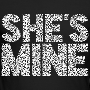 She's Mine Long Sleeve Shirts - Men's Long Sleeve T-Shirt by Next Level