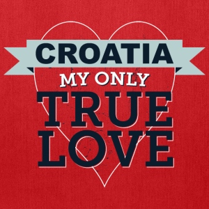 Croatia My Only True Love 3 Bags & backpacks - Tote Bag