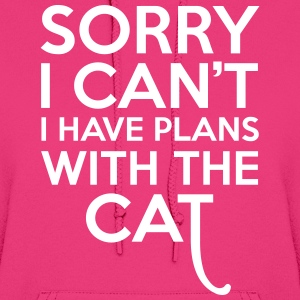 Plans With The Cat Hoodies - Women's Hoodie