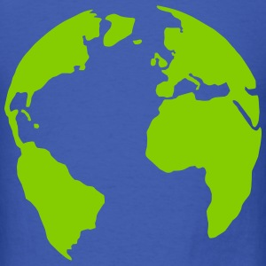 Earth, world T-Shirts - Men's T-Shirt