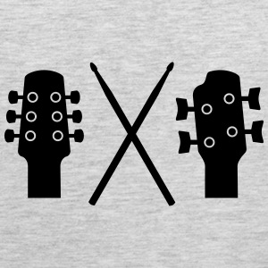 Guitar, Bass and Drums Tank Tops - Men's Premium Tank