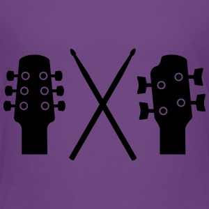 Guitar, Bass and Drums Kids' Shirts - Kids' Premium T-Shirt