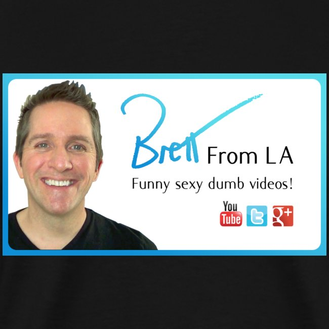 BrettFromLA Logo (with URL on Back)