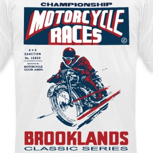 vintage racer T-Shirts - Men's T-Shirt by American Apparel