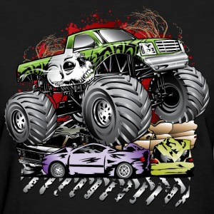 Mega Death Monster Truck Women's T-Shirts - Women's T-Shirt
