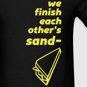 sandwiches - couple (right) T-Shirts - Men's T-Shirt