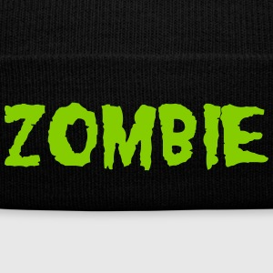 ZOMBIE Caps - Knit Cap with Cuff Print