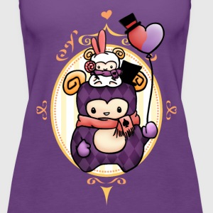 Sheep at Carnival Tanks - Women's Premium Tank Top