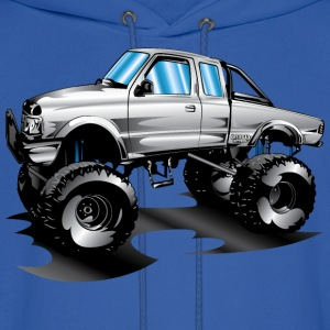 Lifted 4x4 Ford Truck Hoodies - Men's Hoodie
