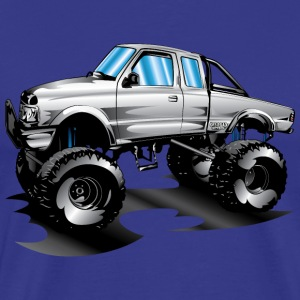 Lifted 4x4 Ford Truck T-Shirts - Men's Premium T-Shirt