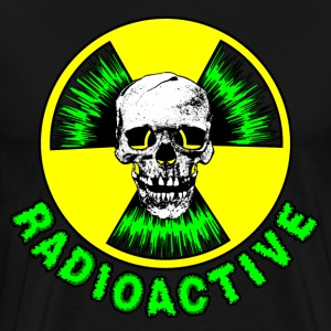 Radioactive Skull - Men's Premium T-Shirt