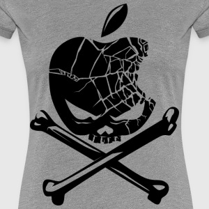 apple pirates - Women's Premium T-Shirt