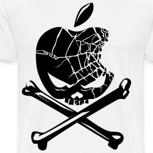 apple pirates - Men's Premium T-Shirt