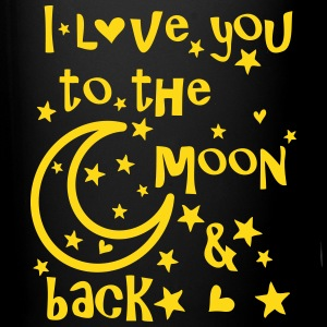 I love you to the moon and back Full Color Mug - Full Color Mug