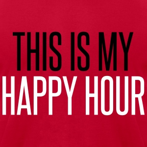 Happy Hour T-Shirts - Men's T-Shirt by American Apparel