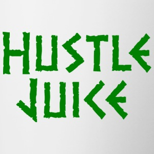 Hustle Juice Mugs & Drinkware - Contrast Coffee Mug