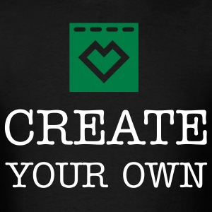 Create Your Own - Men's Black T-Shirt - Men's T-Shirt