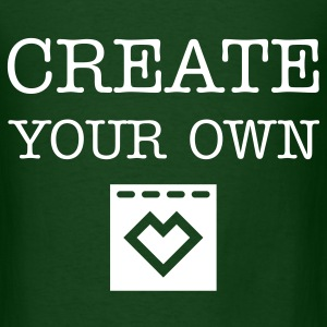 Create Your Own - Men's Green T-Shirt - Men's T-Shirt