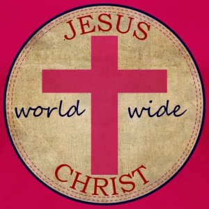 Jesus World Wide - Women's Premium T-Shirt