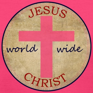 Jesus World Wide - Women's V-Neck T-Shirt