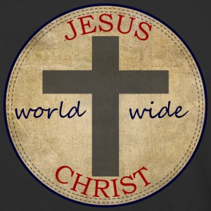 Jesus World Wide - Baseball T-Shirt