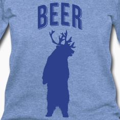 BEER WOMEN WIDENECK SWEATSHIRT