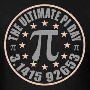 The Ultimate Pi Day March 14 2015 T Shirt - Men's T-Shirt