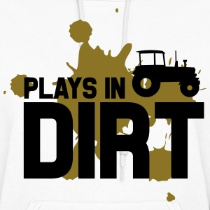 Plays in dirt Hoodies - Women's Hoodie