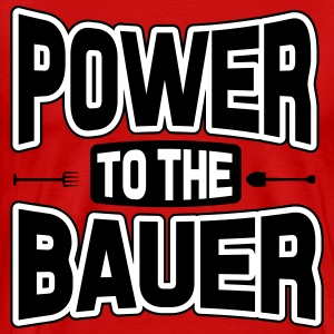 Power to the Bauer T-Shirts - Men's Premium T-Shirt