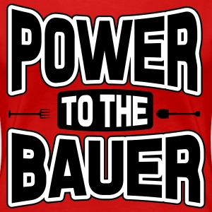 Power to the Bauer Women's T-Shirts - Women's Premium T-Shirt