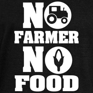 no farmer no food Long Sleeve Shirts - Women's Wideneck Sweatshirt