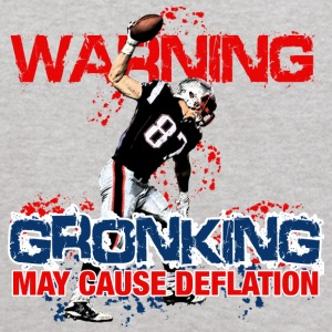 Warning Gronking May Cause Deflation Sweatshirts - Kids' Hoodie