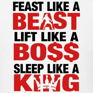 FEAST LIKE A BEAST - Men's T-Shirt