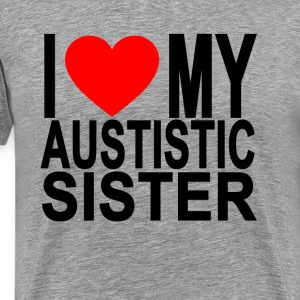 i_love_my_autistic_sister - Men's Premium T-Shirt