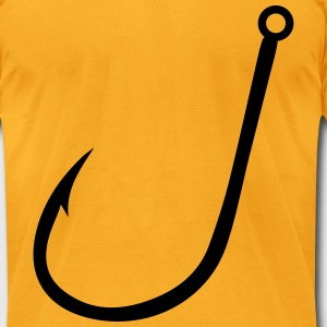 hook T-Shirts - Men's T-Shirt by American Apparel