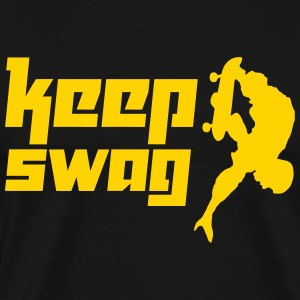 Keep Swag 3 (Vektor) - Men's Premium T-Shirt
