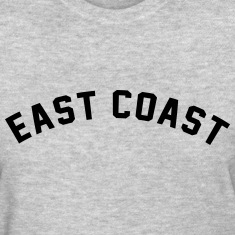 East Coast  Women's T-Shirts