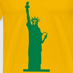 Statue of Liberty, Lady Liberty T-Shirts - Men's Premium T-Shirt