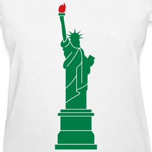 Statue of Liberty, Lady Liberty Women's T-Shirts - Women's T-Shirt
