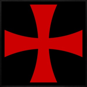 Knights_Templar_Cross T-Shirts - Men's T-Shirt