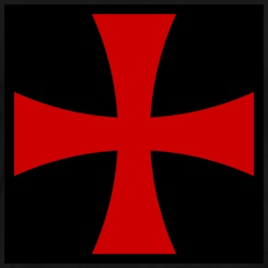 Knights_Templar_Cross T-Shirts - Men's Premium T-Shirt