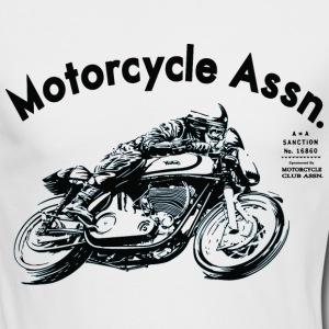 moto assn Shirts - Men's Long Sleeve T-Shirt by Next Level