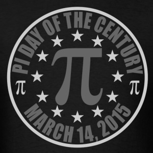 Pi Day of the Century 3.14.15 T Shirt Design - Men's T-Shirt